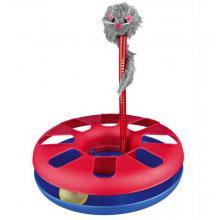 Игрушка-трек с мышкой,  24*29 см, пластик (4135)