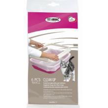 Пакеты для туалета IMAC =Cean Up= 45х35см (6 шт)