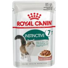 Кусочки в соусе для кошек: 7-12лет  (Instinctive7+)