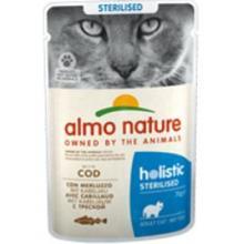 Консервы для кастрированных кошек с треской (Functional Sterilised with Code)