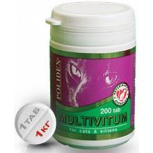 Multivitum Витаминно-минеральный комплекс для кошек (профилактика авитаминоза), 200 таб.