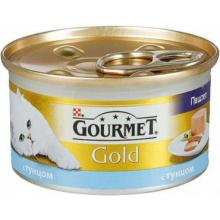 Паштет для кошек с тунцом , Gold Mousse with Tuna