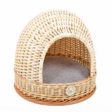 Плетеный домик-лукошко круглый для животных 40*40 см