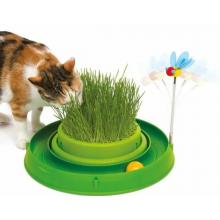 Catit игровой круг с мини-садом с травой зеленый (H430026)