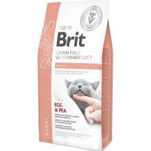 Brit Veterinary Diet Cat Grain free Renal. Беззерновая диета для кошек при хронической почечной недостаточности