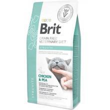 Brit Veterinary Diet Cat Grain free Struvite. Беззерновая диета для кошек при струвитном типе МКБ