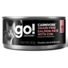 Консервы беззерновые с лососем и треской для кошек (Carnivore Grain Free Salmon Pate with Cod CF)