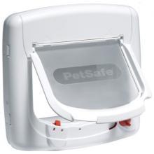 Дверца для кошек StayWell Deluxe с магнитным ключом, 4 позиции, клапан 14 х 15,2 см, белая
