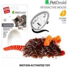 Игрушка для кошек интерактивная мышка, 9см (75359)