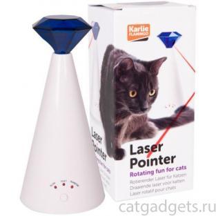 Лазерная игрушка для кошки 21*10 см