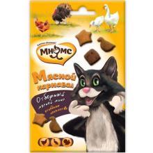 """Лакомство для кошек Микс """"Мясной карнавал"""" (утка, индейка, курица)"""