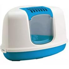 Туалет-домик угловой NESTOR Corner синий 58,5*45,5*40 см