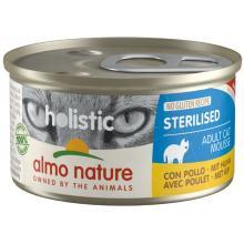 Консервы для кастрированных кошек с цыпленком (Holistic Cat wet Sterilised - with Chicken)