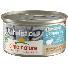 Консервы для кошек с белым мясом для профилактики мочекаменной болезни (Holistic Cat wet Urinary help  - with White meat)