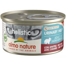 Консервы для кошек с уткой для профилактики мочекаменной болезни (Holistic Cat wet Urinary help  - with Duck)