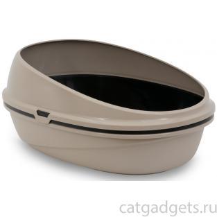 Туалет для кошек тройной PIN UP LUXO 59*39,5*27 см
