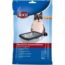 Пакеты для кошачьих туалетов  XL: 56 x 71 см, 10 шт (4051)