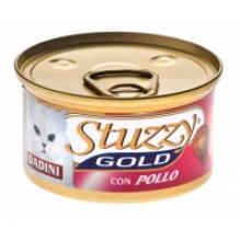 Stuzzy Gold консервы для кошек (кусочки курицы в соусе)