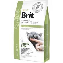 Brit Veterinary Diet Cat Grain free Diabetes. Беззерновая диета для кошек при диабете