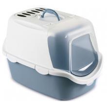 Туалет-Домик Cathy Easy Clean с угольным фильтром, синий, 56*40*40см