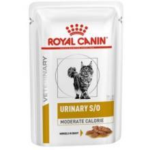 Кусочки в соусе для кошек при профилактике МКБ и избыточном весе (Urinary S/O Moderate calorie feline in souse)